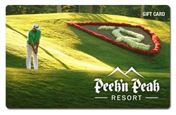 $100 Peek'n Peak Gift Card: Golf