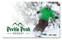 $100 Peek'n Peak Gift Card: Ski