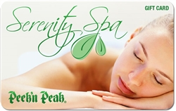 $75 Peek'n Peak Gift Card: Spa